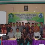 Foto Bersama Anggota Cluster Matraman beserta Pimpinan STAI Madiun dan Kopertais Wil IV Surabaya