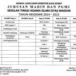 Jadwal UAS 20152